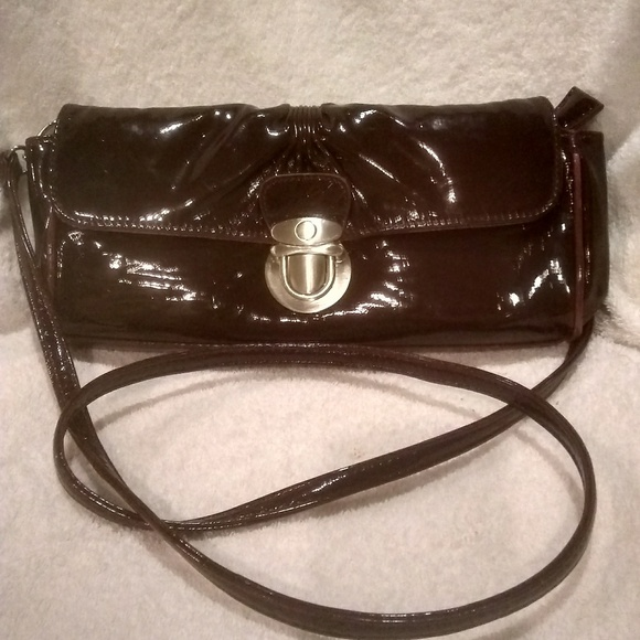 6c3ab0112 bulaggi Bags | Nwot Red Patent Leather Clutch Shoulderbag | Poshmark